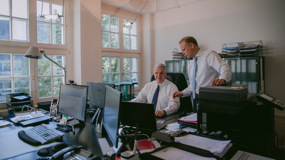 sx-capital Vermögensverwaltung Münster Teambesprechung